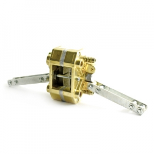 Mechanic brake caliperaluminium- gold anodized
