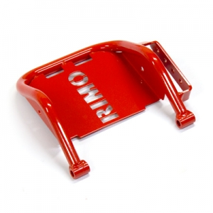 Brake pedal Mini kart red/MSwith footrest