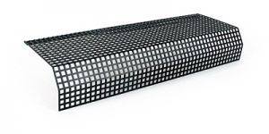 Rear axlecover perforatedsteel plate