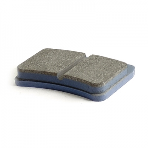 Pair of hard RiMO brake pads for 8/12mm disk