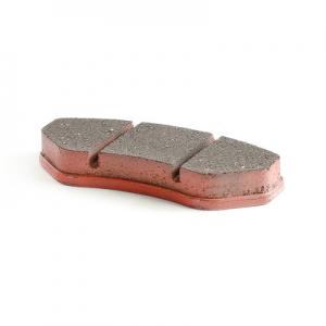 Brake pad set red (soft) mechanical brake (1 set = 2 piece)
