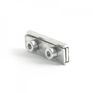 Cable clamp with screw