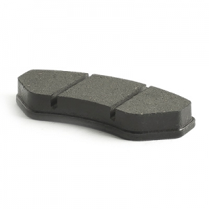 Brake pad set black hard (1 set = 2 piece )