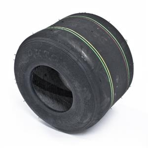 Tire 11*7.10-5 DUROHF-242B yellow/red/green