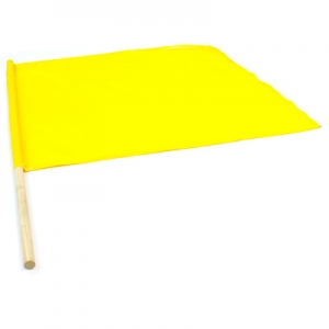 Flag yellow 80x80cm