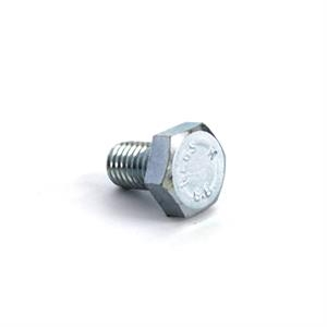 Hexagon head bolt M10x16galvanized8.8