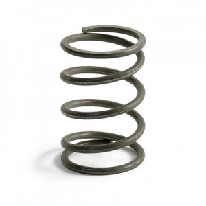 Compression spring axle cover