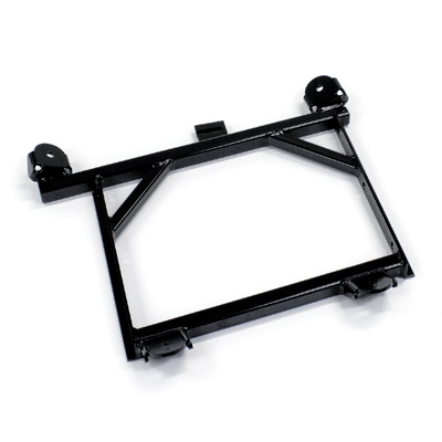 Lower EVO6 reinforced seat frame for adjustable seat