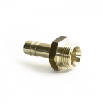 """""""""""Threaded nozzle 3/8""""""""x9mm MS16 brass, max. 16 bar"""""""