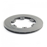 Brake disk210x12mm ventilated channeled