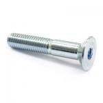 Countersunk screw M6x40zinc plated 10.9