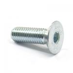 Countersunk bolt M6x30 galvanized 10.9 ISO 10642